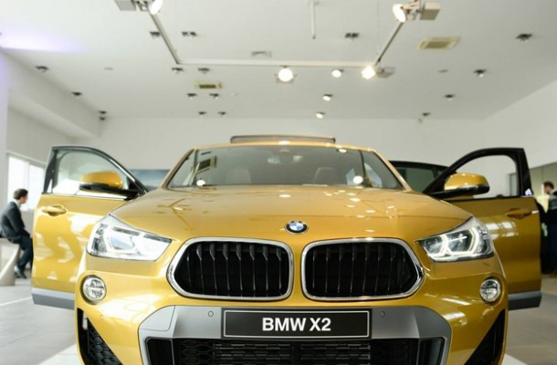 Kara5 boosted the premiere of the first-ever BMW X2.