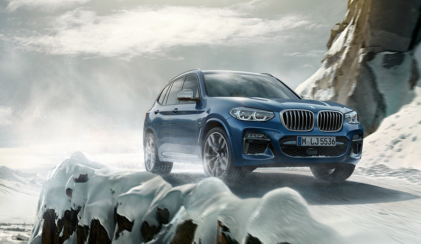 Kara5 launched the campaign: On a mission. The all-new BMW X3